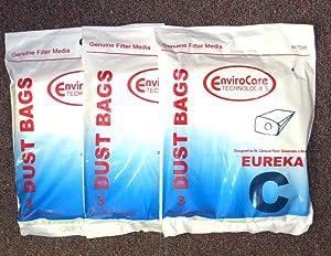 Vacuum Cleaner Bags Eureka Vacuum Bags Style C Mighty Mite 9 pack