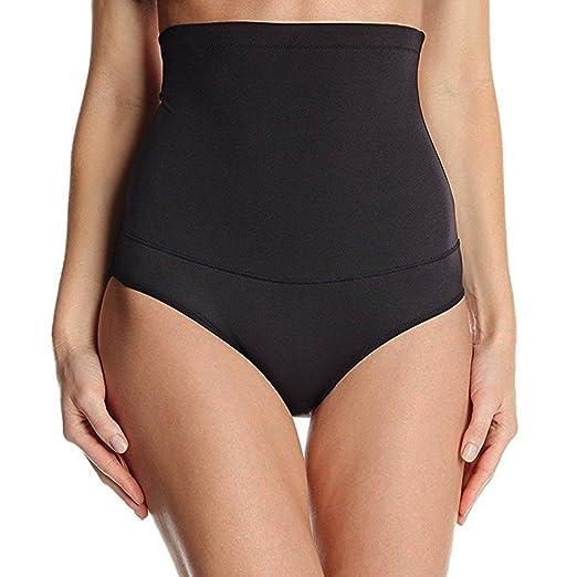 fdadb43d890b7 FeelinGirl Women s High Waist Shapewear Panties Tummy Control Bodyshort XS  Black