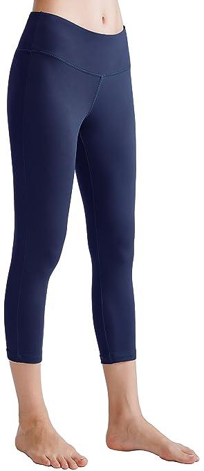 e4d1114af7 Oalka Yoga Pants Oalka 22″ Power Flex Yoga Capris ...