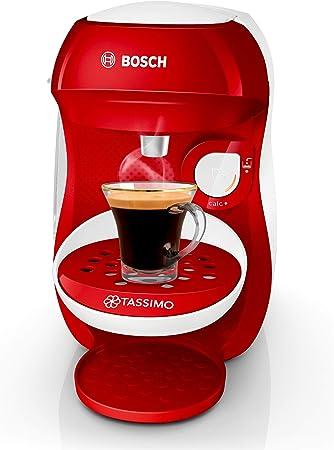 Bosch Tassimo Happy tas1006 C cafetera bebidas calientes, Rojo ...