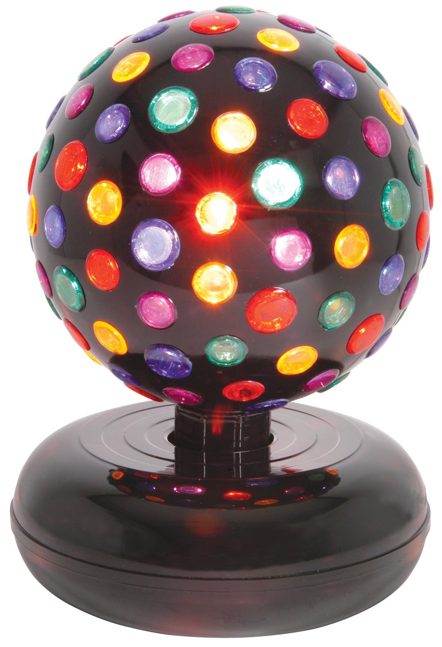 qtx uk version 5 colour large rotating disco ball with amazon co uk