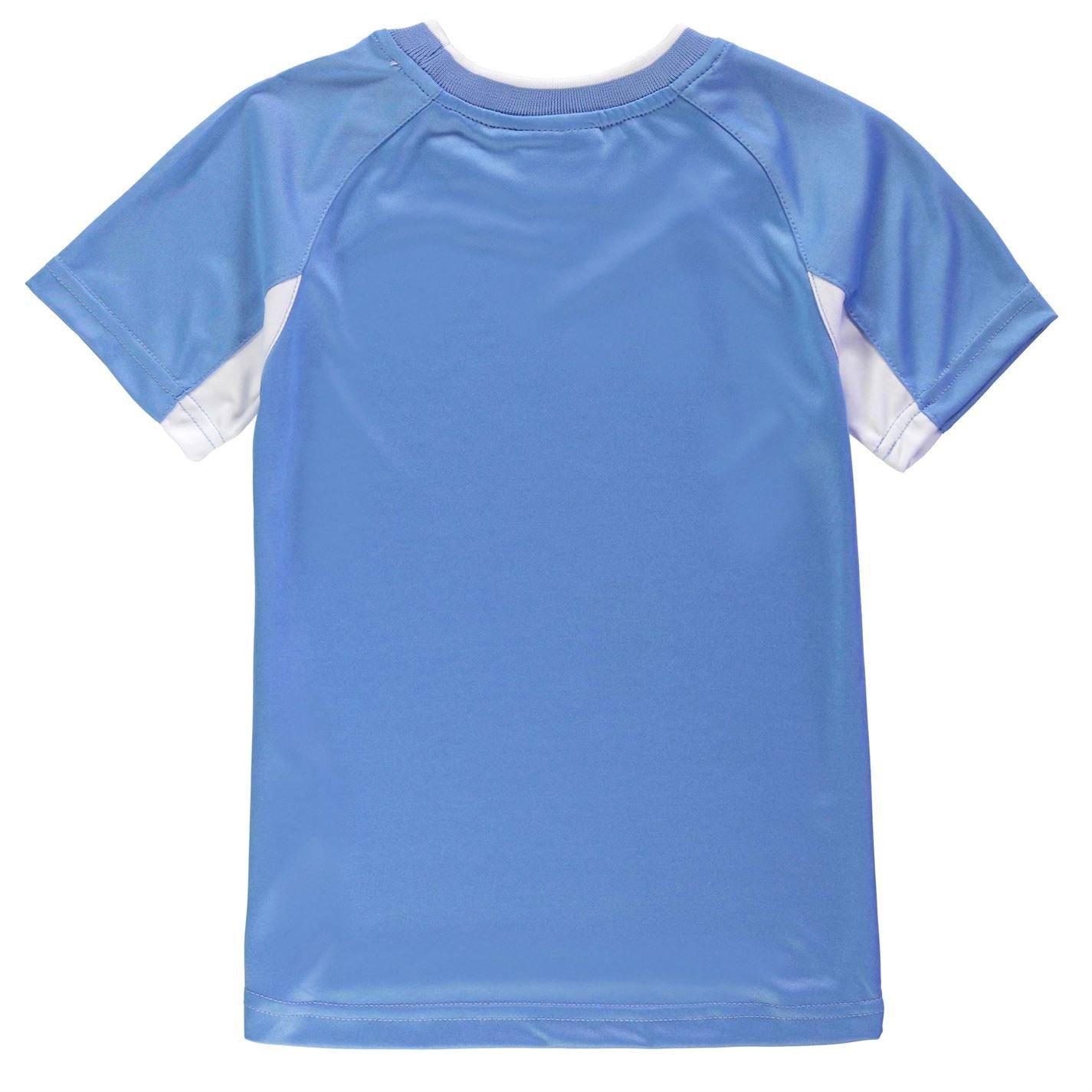 Source Lab Niño Manchester City Poly Camiseta Cuello Redondo Sky 9 ...