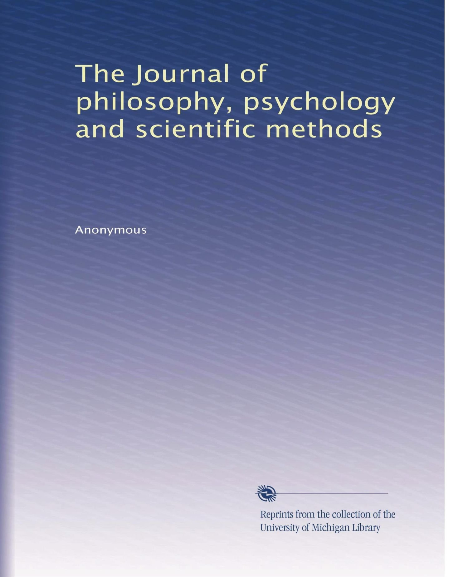 Download The Journal of philosophy, psychology and scientific methods (Volume 2) pdf