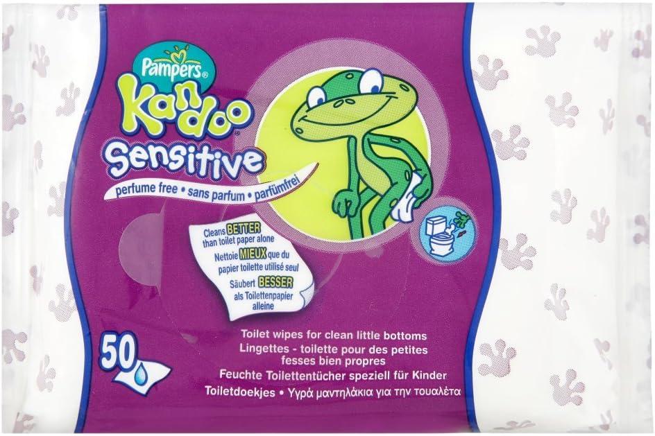 Pampers Kandoo Sensitive 50s