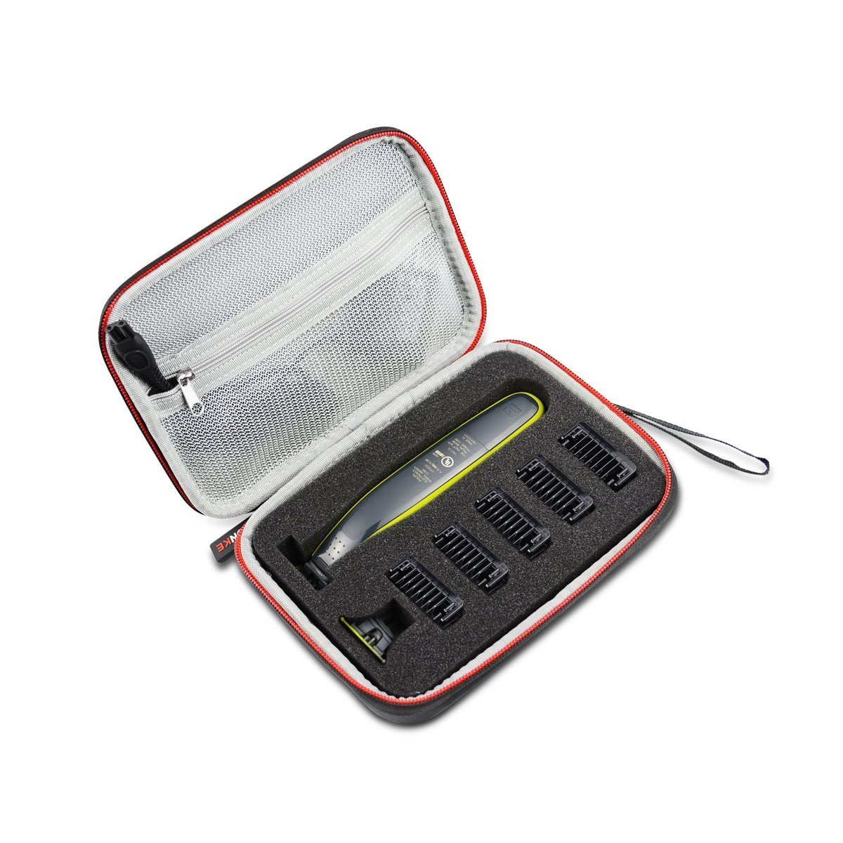 9e21be7ed1c1 Hard Travel Case Bag for Philips OneBlade Hybrid Electric Trimmer and Shaver  QP2520 21 by AONKE
