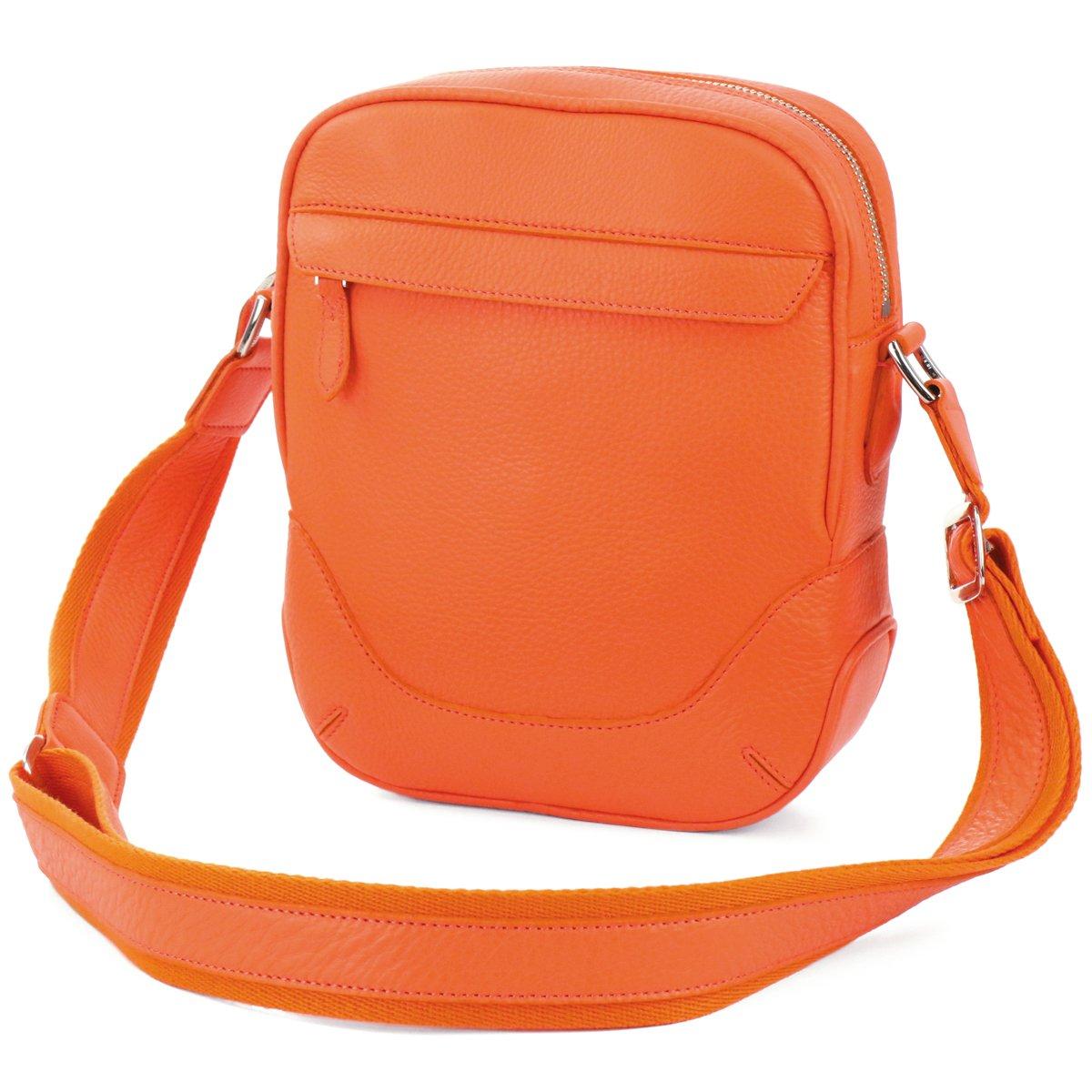 ペッレモルビダ ショルダーバッグ 本革 メイデン ボヤージュ PMO-MB056 メンズ B07C8H1NSS オレンジ オレンジ