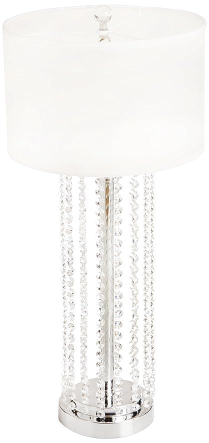 OK Lighting OK-9142T Simple Elegance Table L& 30.5-Inch Polished Chrome  sc 1 st  Amazon.com & OK Lighting OK-9142T Simple Elegance Table Lamp 30.5-Inch ... azcodes.com