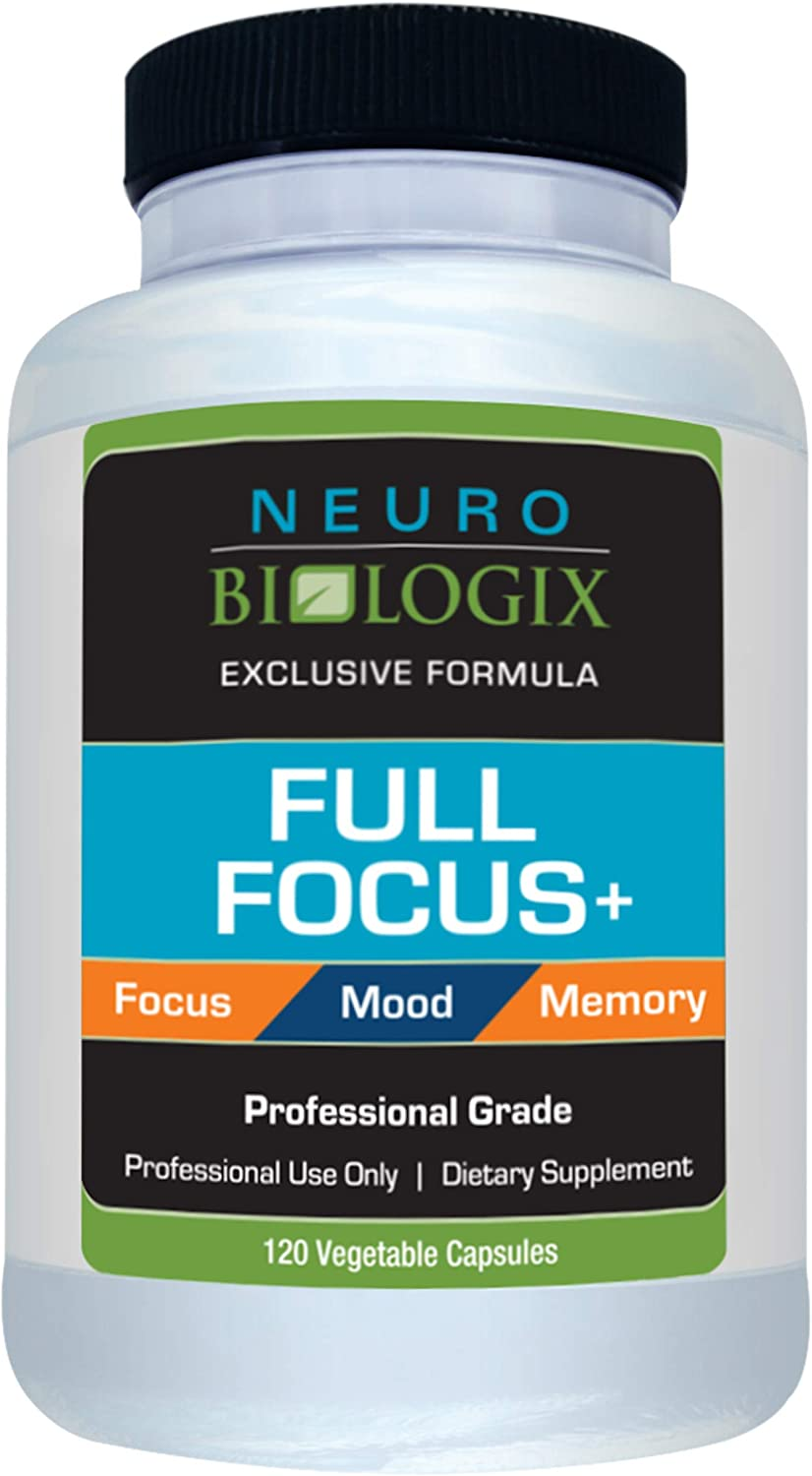 Neuro biologix Full Focus Concentration and Mood Supplement 120 Capsules