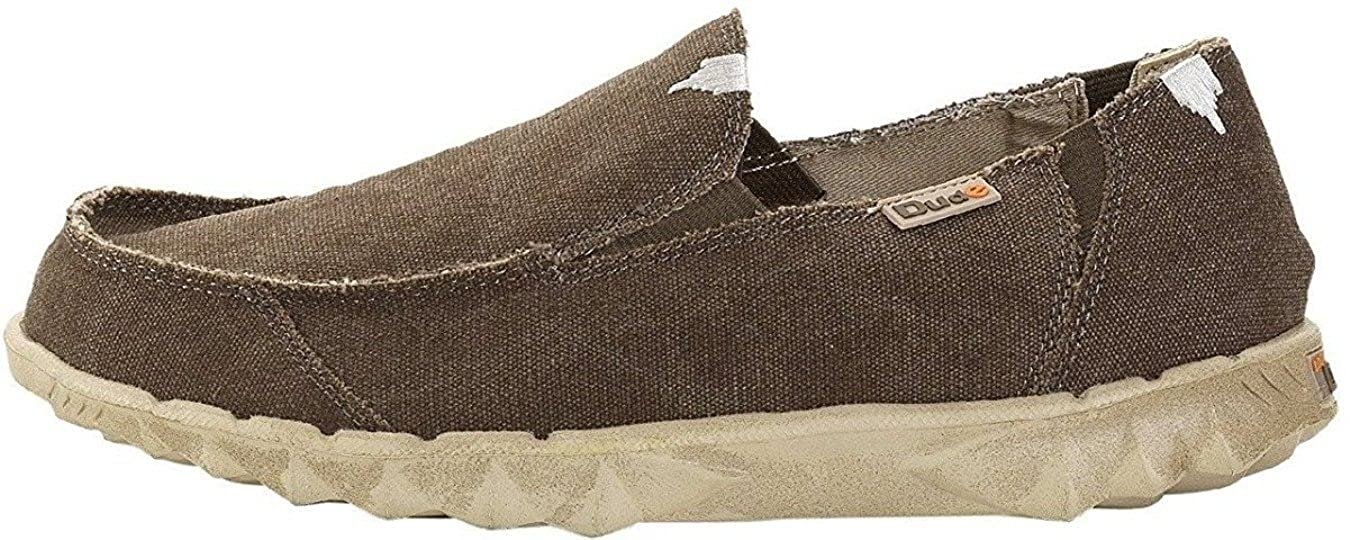 Hey Dude Farty Classic Wenge Canvas Slipons Shoes: Amazon.it