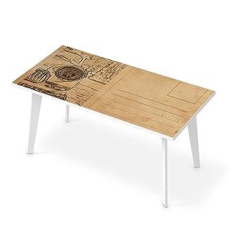 Fesselnd Tischdeko Für Tisch 160x80 Cm | Dekorations Tisch Aufkleber Folie  Selbstklebend Abwaschbar   Möbel Folie