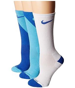 Nike W Nk Dry Cush Crew 3Pr -Gfx Calcetines, Mujer, Multicolor, S: Amazon.es: Deportes y aire libre