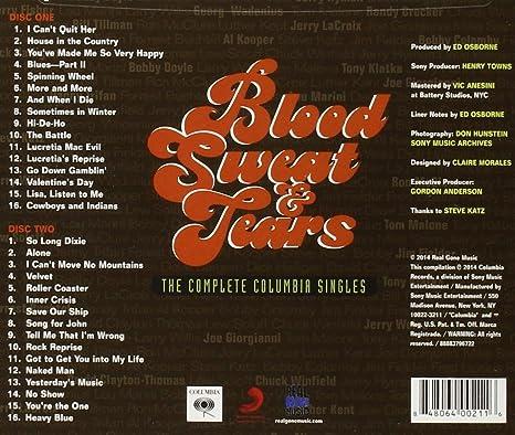 Complete Columbia Singles: Blood Sweat & Tears: Amazon.es: Música