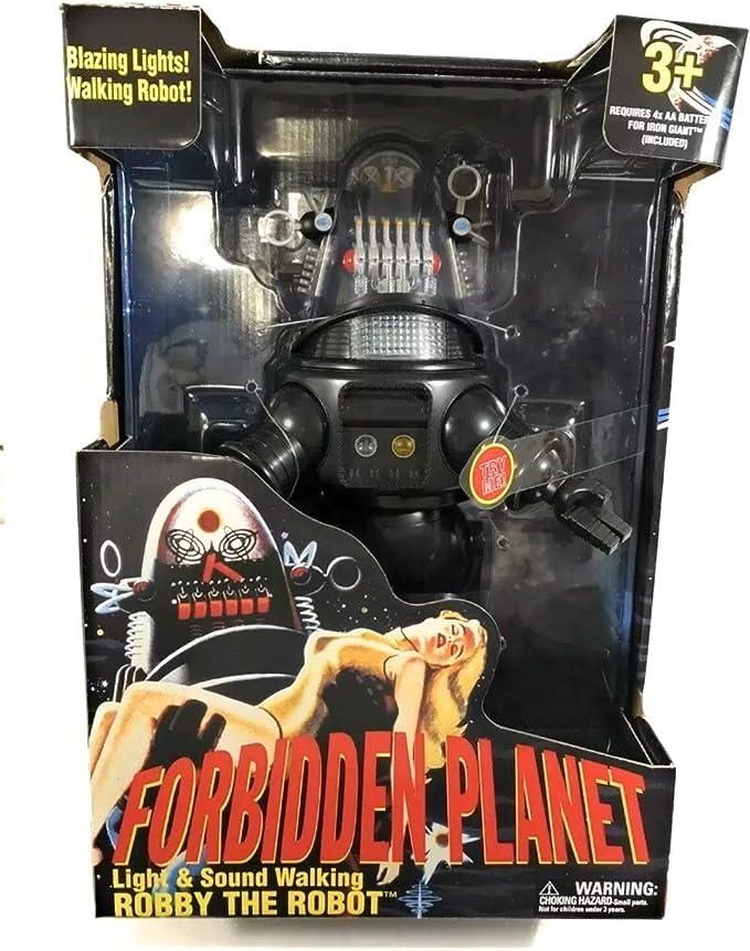 Forbidden Planet Robby The Robot Figura para caminar con luz y sonido: Amazon.es: Juguetes y juegos