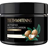 Teeth Whitening Activated Charcoal Powder,100% Food Grade Teeth Powder, Removes Stains, Plaque and Freshen Breath,TW09