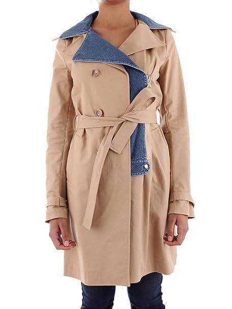 best website 9665c 51eff PATRIZIA PEPE 8J0831/A3KK Trench Donna: Amazon.it: Abbigliamento