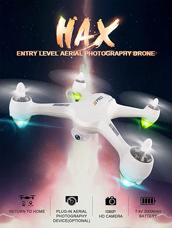 RONSHIN RC Toys JJRC JJPRO X3 HAX Cuadricóptero RC Dron Doble Modo ...