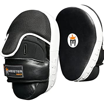 Pro Impact Curved Focus Mitts Genuine Leather $85 Value