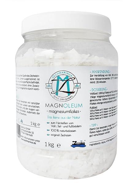 Cloruro de magnesio también para DIY – Magnesio de aceite de fabricación – maquillaje – Vegan