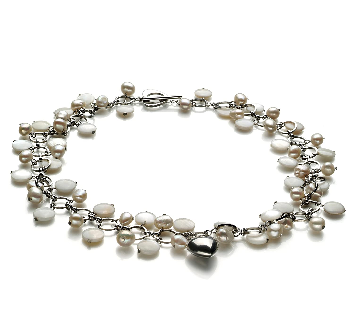 White 6-7mm A Quality Freshwater Cultured Pearl Necklace