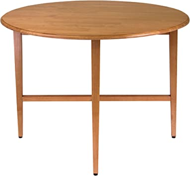 Winsome Wood Table Ronde En Bois 45 7 Cm Amazon Ca Maison Et Cuisine