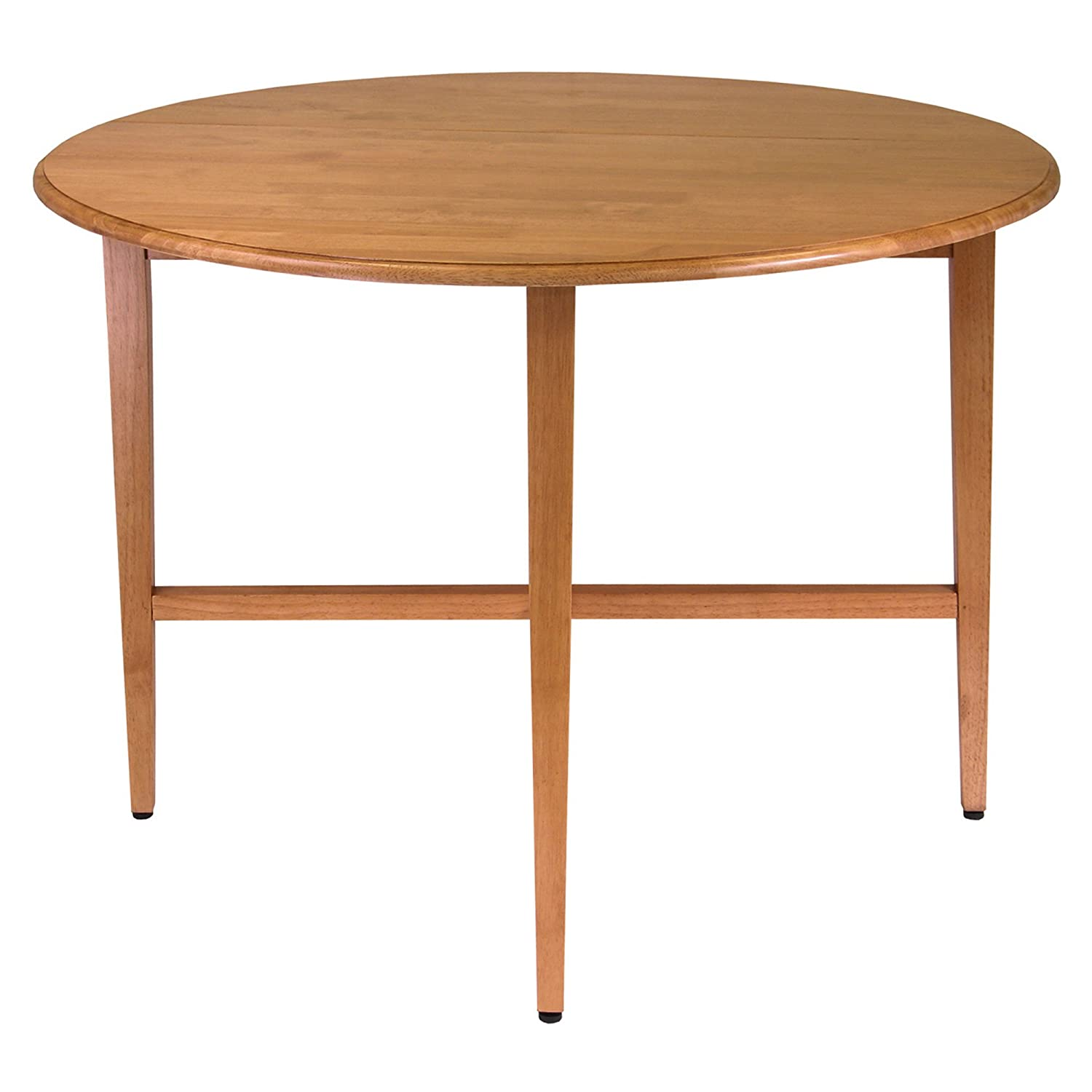 Winsome Wood 42-Inch Round Drop Leaf Table 34942