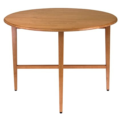 Ordinaire Winsome Wood 42 Inch Round Drop Leaf Table