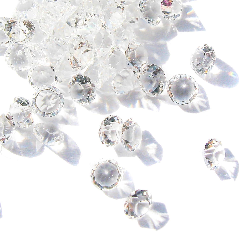 TOAOB Lot de 5000 pcs Acrylique Diamants 4.5mm Diamants de décoration Mariage fête Anniversaire Cristaux décoratifs Pot Decoration Fleur etc FR-Xszz0025
