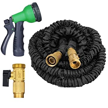 Garden Hose, Expandable Water Hose 50ft, Heavy Duty Expanding Water, Best  Flexible Garden
