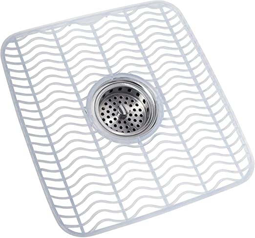 Amazon Com Rubbermaid Sink Mat Medium Clear Fg129506clr Dish
