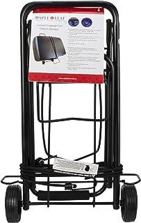 Maple Leaf ML6226BK Compact Luggage Cart, International Carry-on, Black