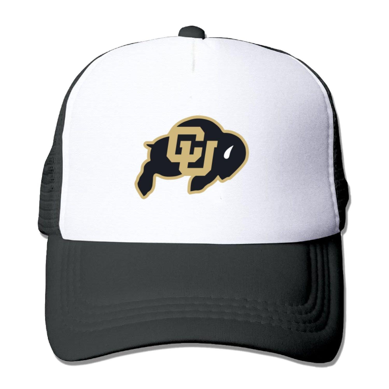 Adult mesh baseball cap Colorado buffaloes Football Team Trucker Hat (5 colours)