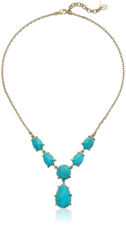 78eca6eae0482 Amazon.com: Lucky Brand Women's Turquoise Stone Pendant Necklace ...