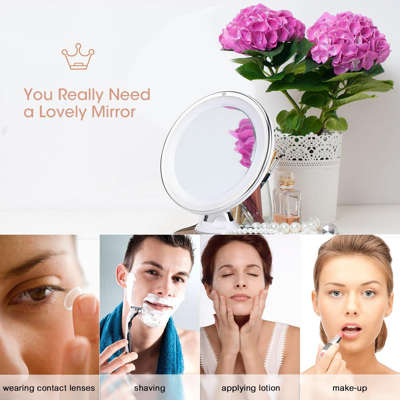 Oferta espejo de maquillaje LiSmile por 18 euros (Oferta FLASH) 1 espejo de maquillaje lismile