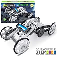 Mochoog STEM 4WD Electric Mechanical Assembly Kit Science Experiment Kits for Kids