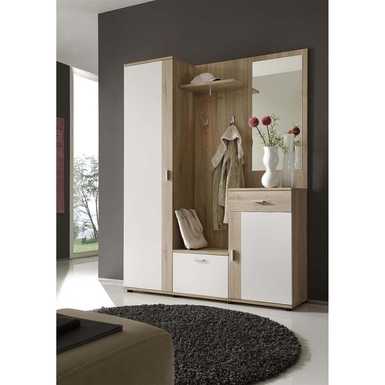 garderobe 120 breit haloring. Black Bedroom Furniture Sets. Home Design Ideas
