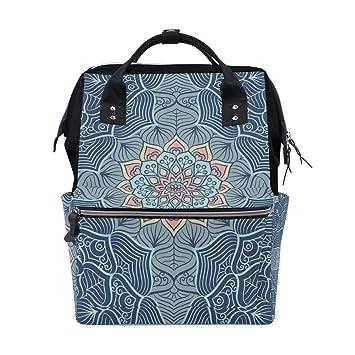 Amazon.com: Mandala Indio Mommy Bolsa Madre Bolsa de viaje ...
