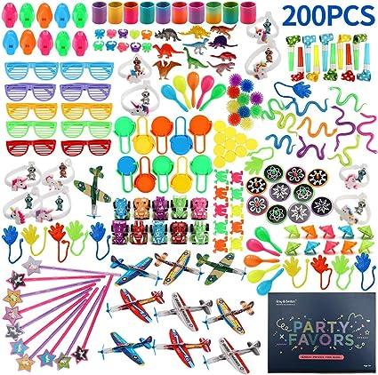 Amazon.com: Amy&Benton 200 piezas Goodie bolsa rellenos ...