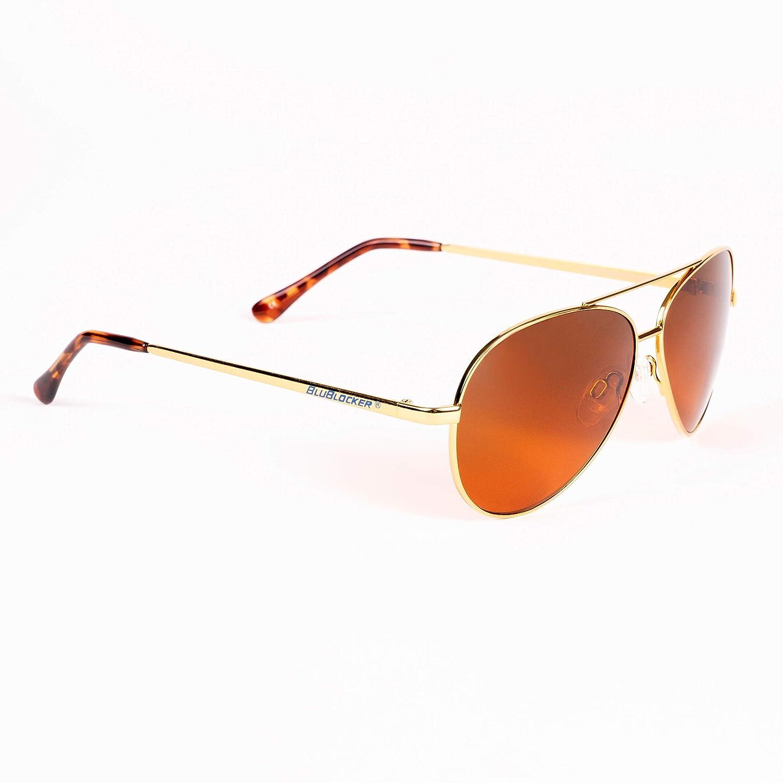 541d920a3ec Amazon.com  Polarized Gold Wire Aviator BluBlocker - 0605K  Clothing
