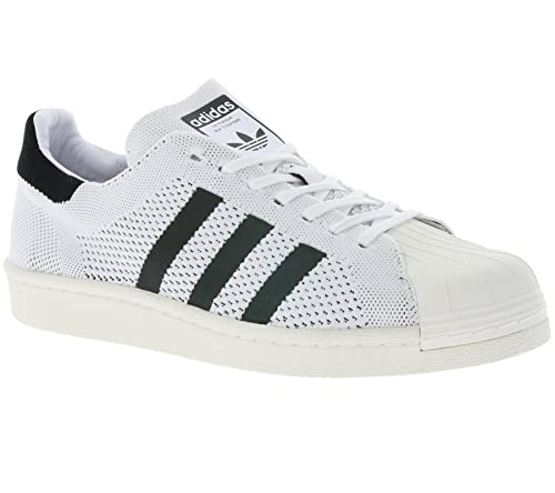 b5d2da4ac9c7 adidas Mens Originals Mens Superstar Primeknit Boost Trainers in White  Black -
