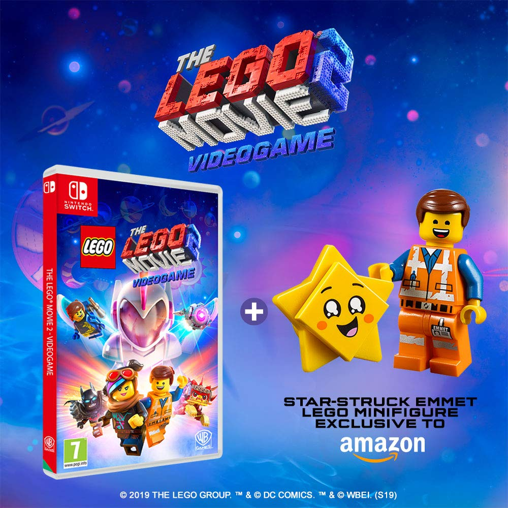 Amazon Com Lego Movie 2 Game Film Double Pack Ps4 Video Games