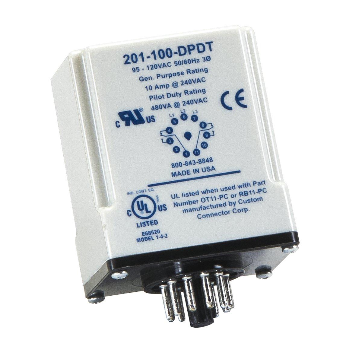 SymCom MotorSaver 3-Phase Voltage Monitor, Model 201-100