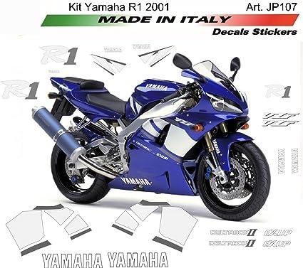 Kit de adhesivos para Yamaha R1 2001: Amazon.es: Coche y moto