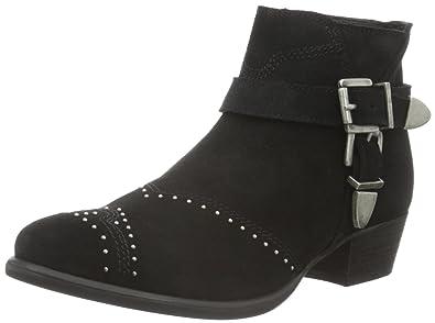 d661413fba4 Sofie Schnoor Women's Belt n Rivet Boot Ankle (Black), 7 UK: Amazon ...