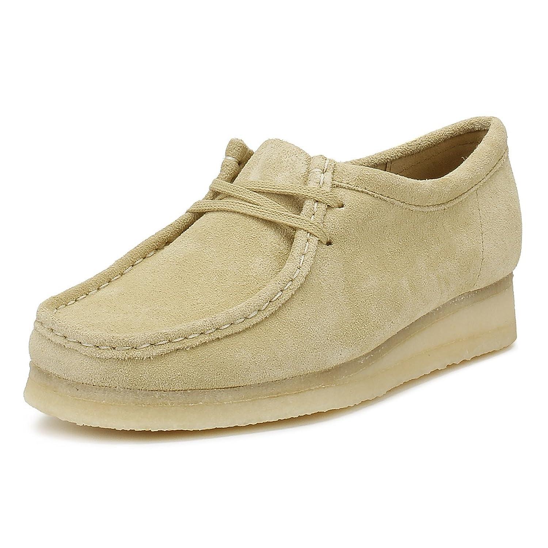 Clarks Originals Mujer Maple Wallabee Ante Zapatos 38 EU