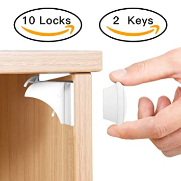 Amazon Baby Proofing Magnetic Cabinet Lock Set Sherry Child