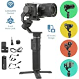 FeiyuTech G6 Max 3-Axis Handheld Gimbal Stabilizer (G6 Plus Upgrade Ver) for Mirrorless Camera Like Sony a7 w/Short Lens…