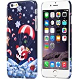 Malloom® iPhone 6 6G 4.7inch,Christmas Santa Claus Gift Skin Case Cover