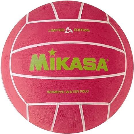 Mikasa pelota de waterpolo Juego de la mujer (rosa): Amazon.es ...