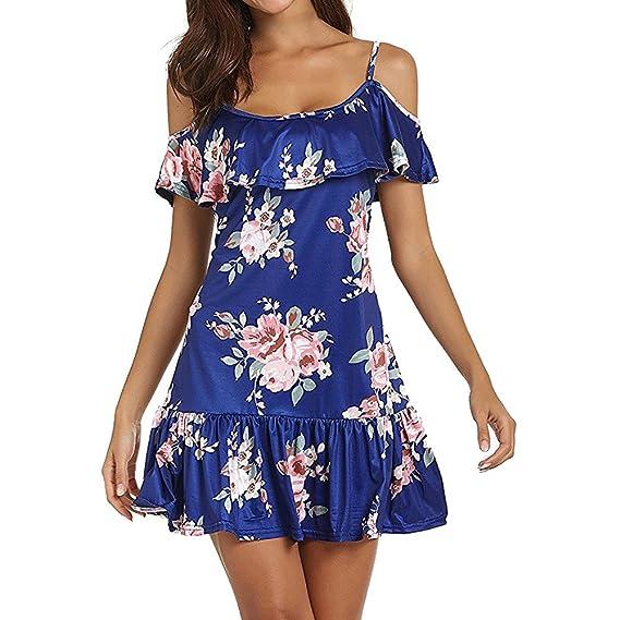 185742360716 Vestidos de Fiesta Mujer Cortos Sexy Mosstars Vestido de Verano ...