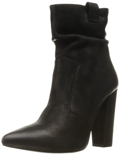 Steve Madden Women's Ruling Boot, Black Nubuck, ...
